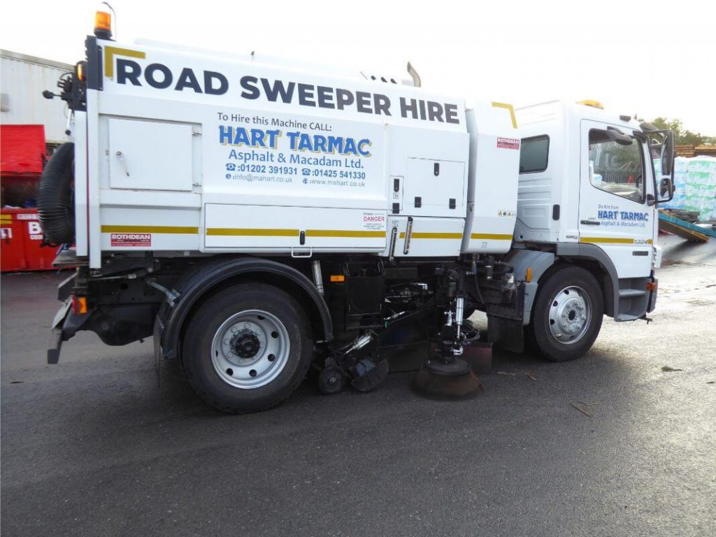 Road Sweeper Hire in Bournemouth